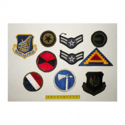 lot de 10 Patchs originaux  US Air Force Vietnam ( 89 )