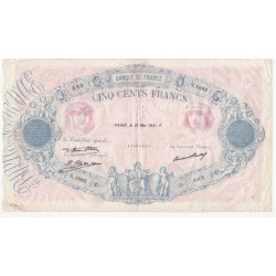 500 Francs Bleu et Rose...