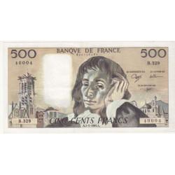 500 Francs Pascal...