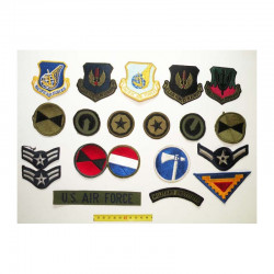 lot de 20 Patchs originaux  US Air Force Vietnam ( 88 )