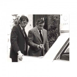 photo originale de Jacques Brel et L .Ventura ( BFP )