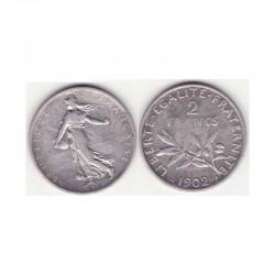 2 francs semeuse 1902 argent ( 002 )