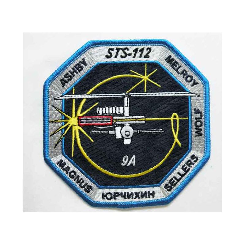 Patch vintage Original Nasa Atlantis STS-112 ( 036 )