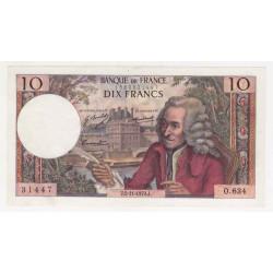 10 Francs Voltaire...