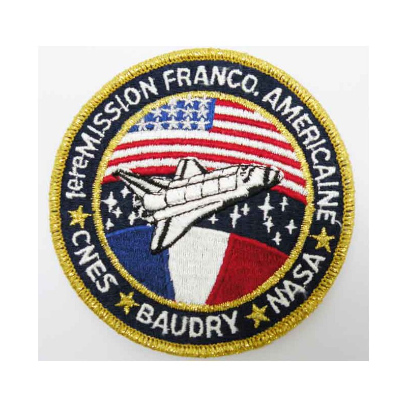 Patch vintage Original Nasa Shuttle Discovery STS-51-G ( 050 )