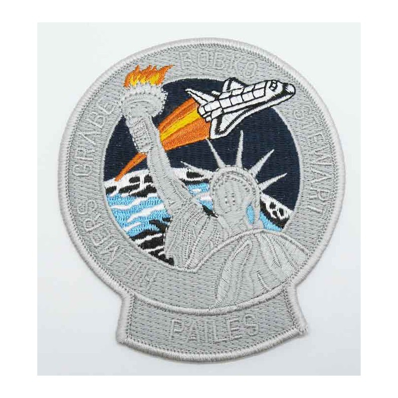 Patch vintage Original Nasa Shuttle Discovery STS-51-J ( 049 )