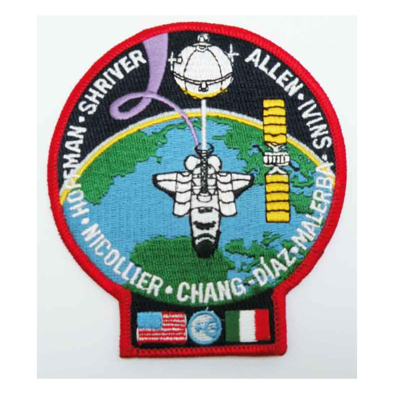 Patch vintage Original Nasa Atlantis STS-46 ( 048 )