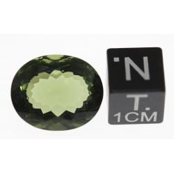 1 Moldavite Taille ovale (...
