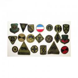 lot de 20 Patchs originaux US Army ( 103 )