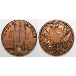 1 Médaille Ecole Navale en...