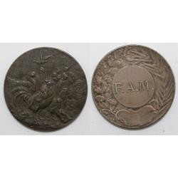 1 Médaille Société...