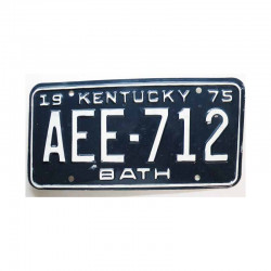 Plaque d Immatriculation USA - Kentucky ( 310 )