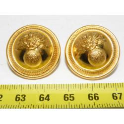 lot de 2 boutons anciens  (...