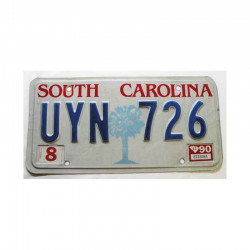 Plaque d Immatriculation USA - South Carolina ( 191 )