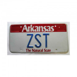 Plaque d Immatriculation USA - Arkansas ( 190 )