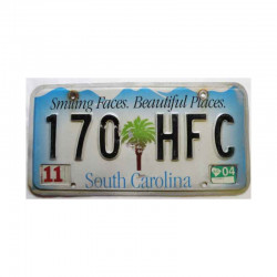 Plaque d Immatriculation USA - South Carolina ( 180 )
