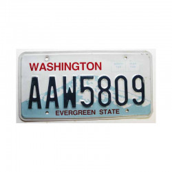 Plaque d Immatriculation USA - Washington  ( 220 )