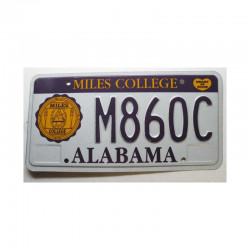 Plaque d Immatriculation USA - Alabama ( 225 )
