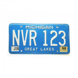 Plaque d Immatriculation USA - Michigan ( 228 )