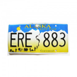 Plaque d Immatriculation USA - Alaska ( 229 )