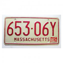 Plaque d Immatriculation USA - Massachusetts (230 )