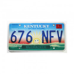 Plaque d Immatriculation USA - Kentucky ( 234 )
