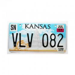 Plaque d Immatriculation USA - Kansas ( 235 )