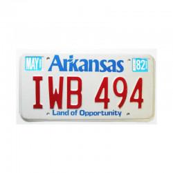 Plaque d Immatriculation USA - Arkansas ( 237 )