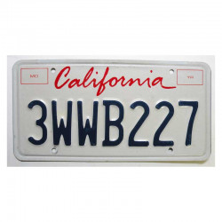 Plaque d Immatriculation USA - California ( 238 )