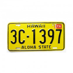 Plaque d Immatriculation USA - Hawaii ( 244 )
