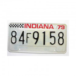 Plaque d Immatriculation USA - Indiana ( 246 )