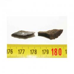 2 Meteorites Lahoma (  1.70 grammes - 009 )