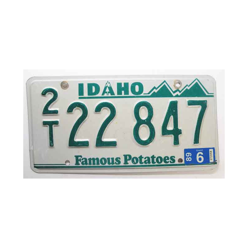 Plaque d Immatriculation USA - Idaho ( 249 )