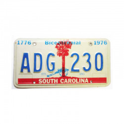 Plaque d Immatriculation USA - South Carolina ( 253 )
