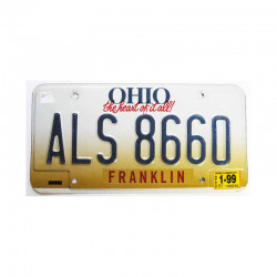 Plaque d Immatriculation USA - Ohio ( 258 )
