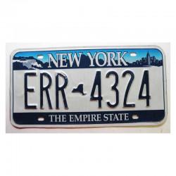 Plaque d Immatriculation USA - New York ( 320 )
