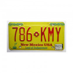 Plaque d Immatriculation USA - New Mexico ( 262 )