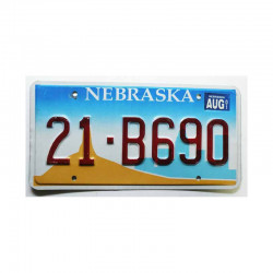 Plaque d Immatriculation USA - Nebraska  ( 265 )