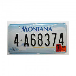 Plaque d Immatriculation USA - Montana (266 )