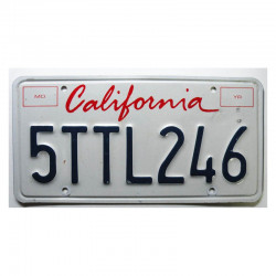 Plaque d Immatriculation USA - California ( 277 )