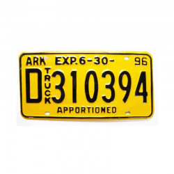 Plaque d Immatriculation USA - Arkansas ( 282 )