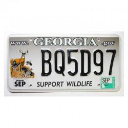 Plaque d Immatriculation USA - Georgia ( 315 )