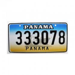Plaque d Immatriculation Panama ( 312 )