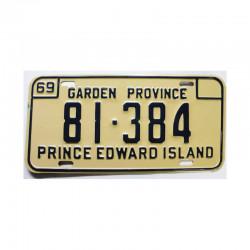 Plaque d Immatriculation Canada  Prince Edward isl (301)