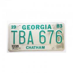 Plaque d Immatriculation USA - Georgia ( 299 )