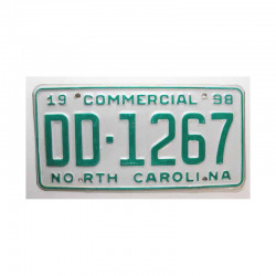 Plaque d Immatriculation USA - North Carolina ( 298 )