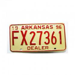 Plaque d Immatriculation USA - Arkansas ( 296 )