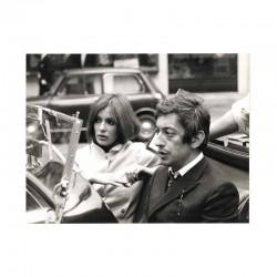 photo originale de Daniele Faubert et Serge Gainsbourg ( BHX)