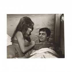 photo originale de Raquel Welch , Dudley Moore ( BIB )