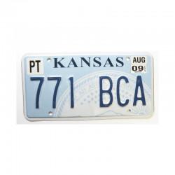 Plaque d Immatriculation USA - Kansas ( 325 )